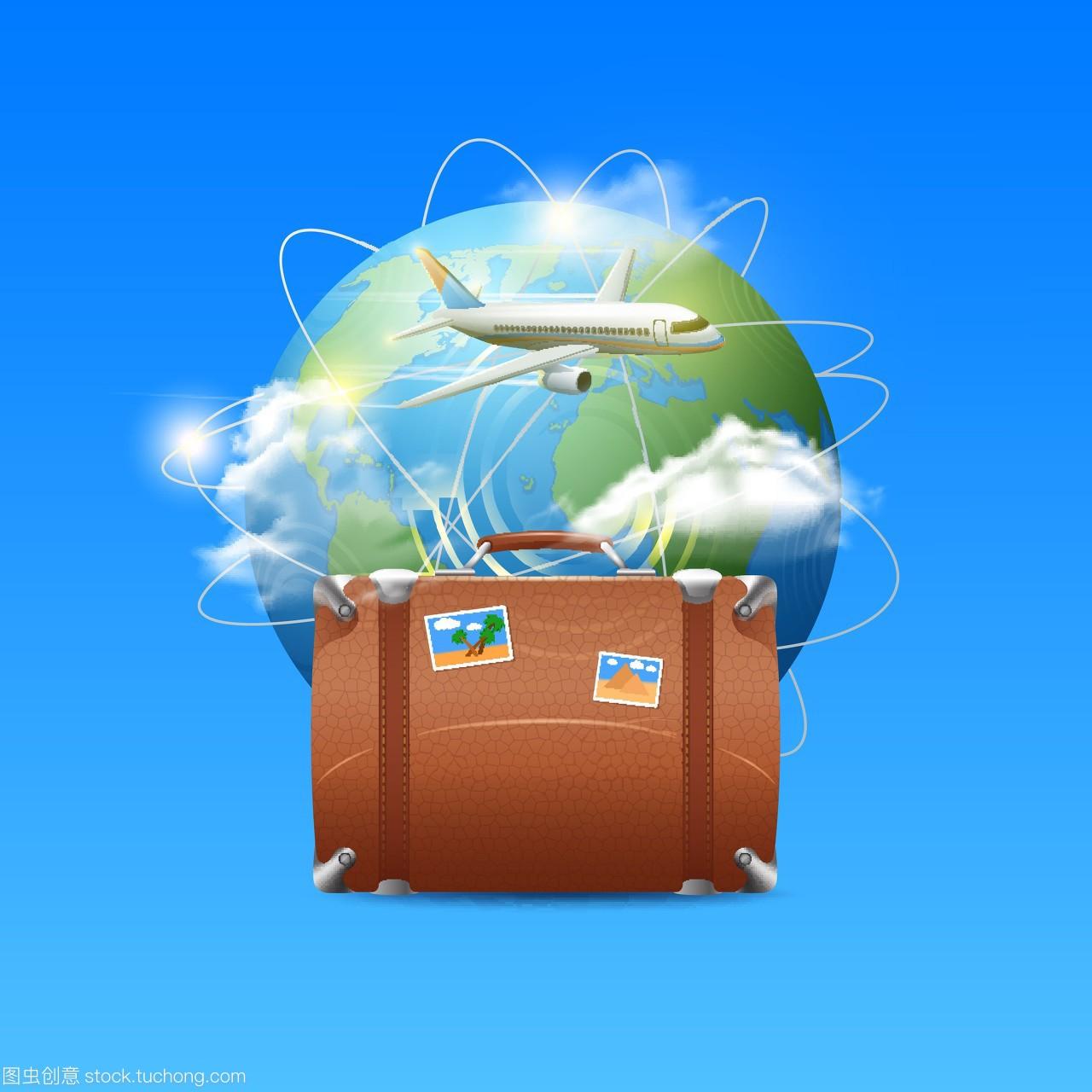 球仪,短发,商务,飞机,邮票,手提箱,世界,出入境,全行李烫发v短发小卷图片图片
