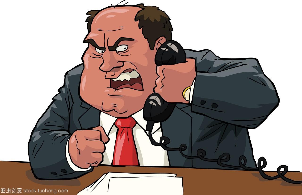 年人,饵料,怒气,人,商务,钓鱼,教程,喊叫,电线,商电话经理狂怒图片