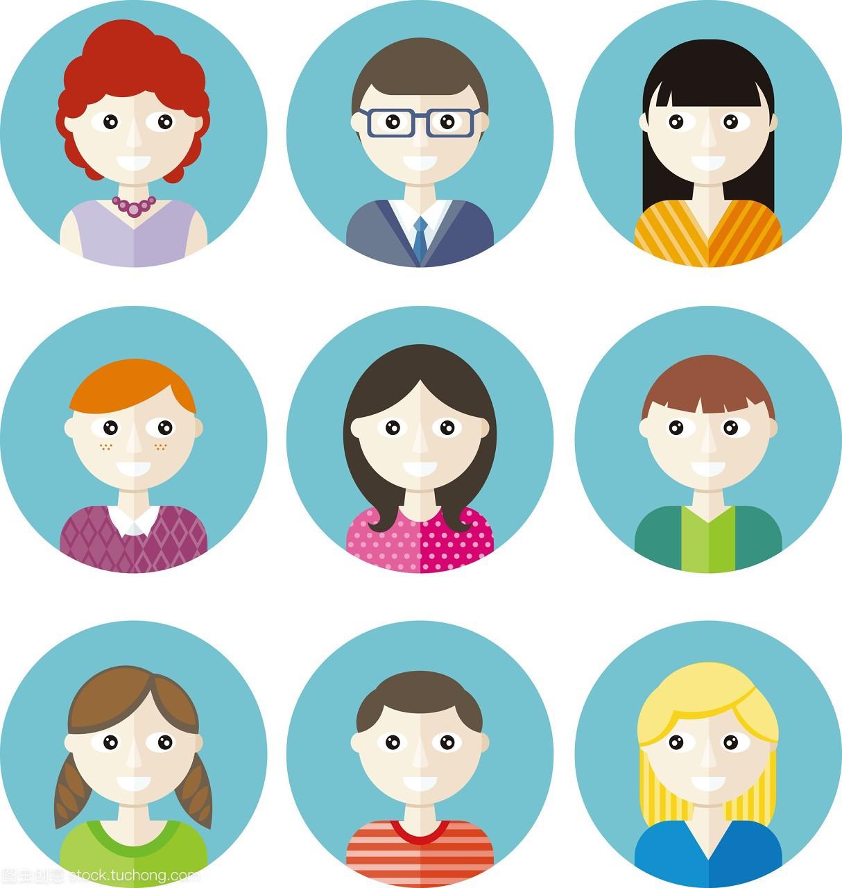汉子,头部,10几岁,风格,年青人,网页,人,女孩,组漫画男孩快看图片