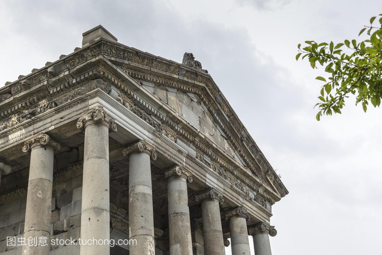 古加尼异教徒在亚美尼亚希腊的寺上手机视频图片