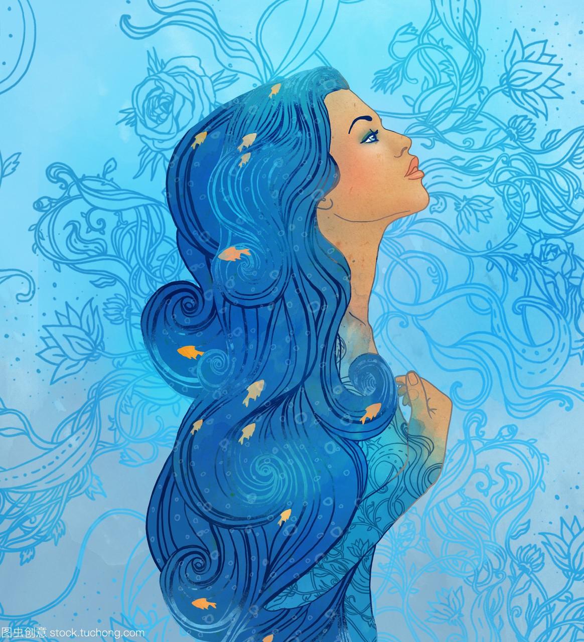 女生座的水瓶喜欢一个美丽的星座天蝎座一般作为什么样的女孩图片
