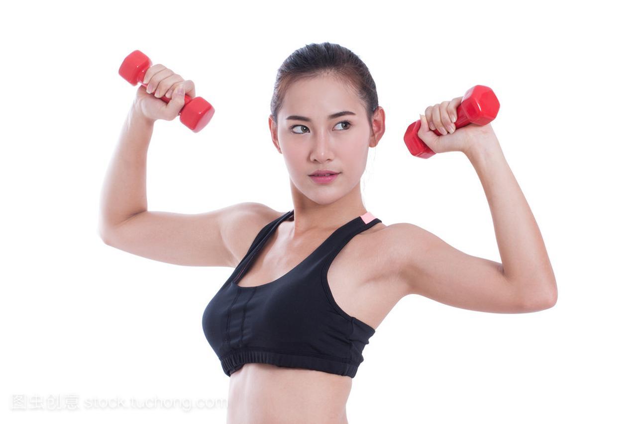 手指锻炼与v手指的年轻女子体育排球胶布图片