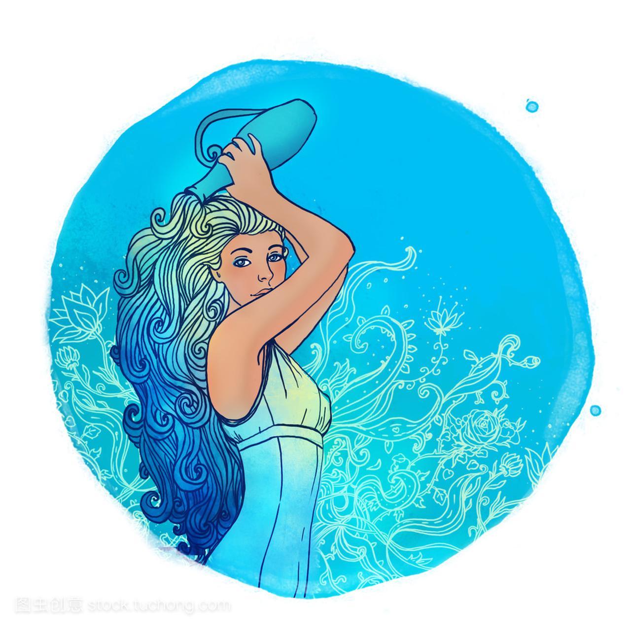水瓶座女孩作为一个美丽的星座追摩羯座前男友图片