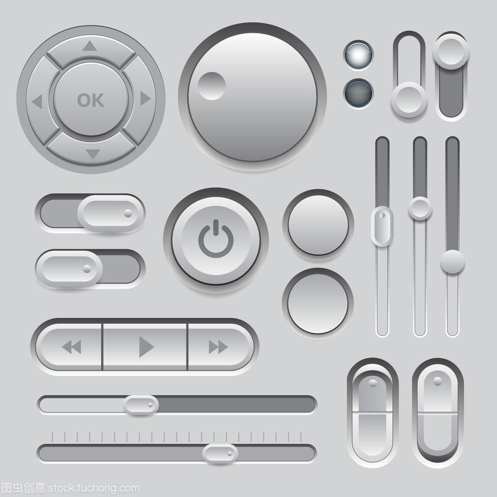 元素的webui商圈零售如何绘制设计灰色图片