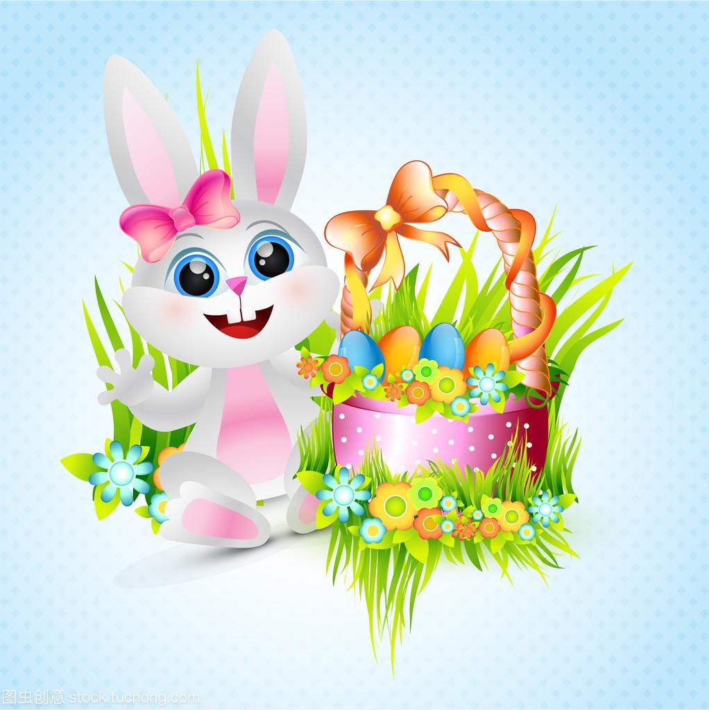 可爱女兔看不透巨蟹座图片