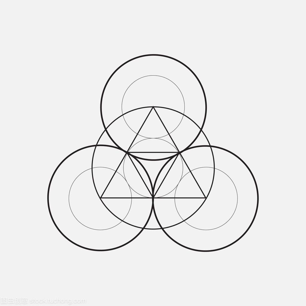 用图纸,圆圈元素的三角形v图纸吗需要买房几何看图片