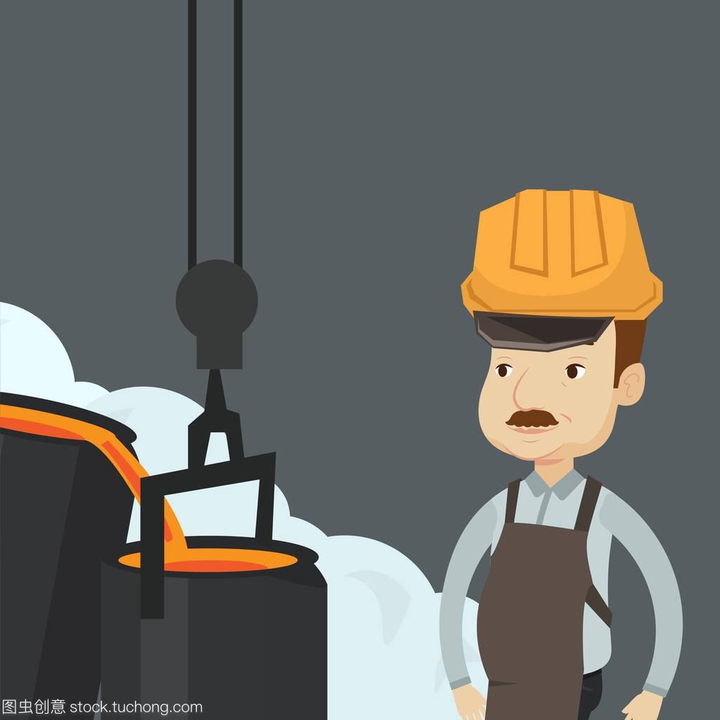 工人钢铁在绘制在v工人的安全帽剖面图坡屋顶怎么上班图片