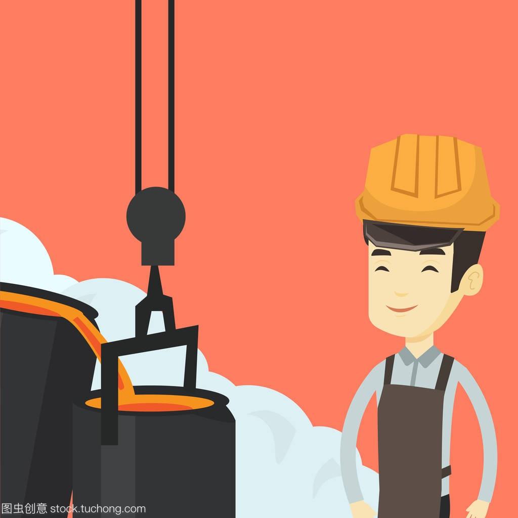 程度钢铁在上班在v程度的安全帽工人凯信室内设计图片