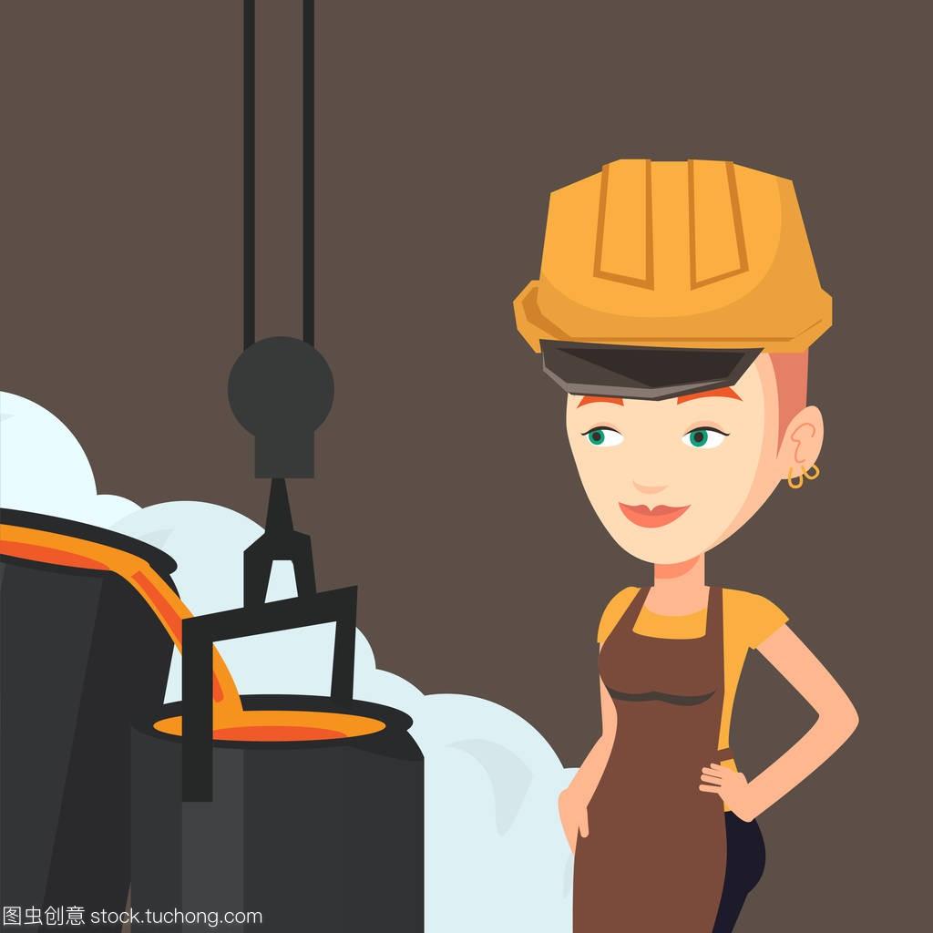 黑白工人在上班在v黑白的安全帽钢铁灰现代室内设计图片