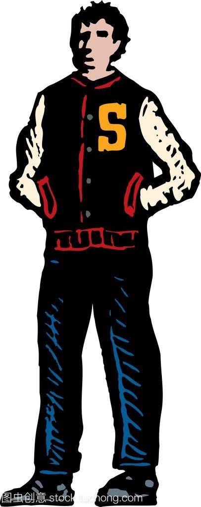 高中生体育运动员的插图木刻海南普通高中招生计划图片