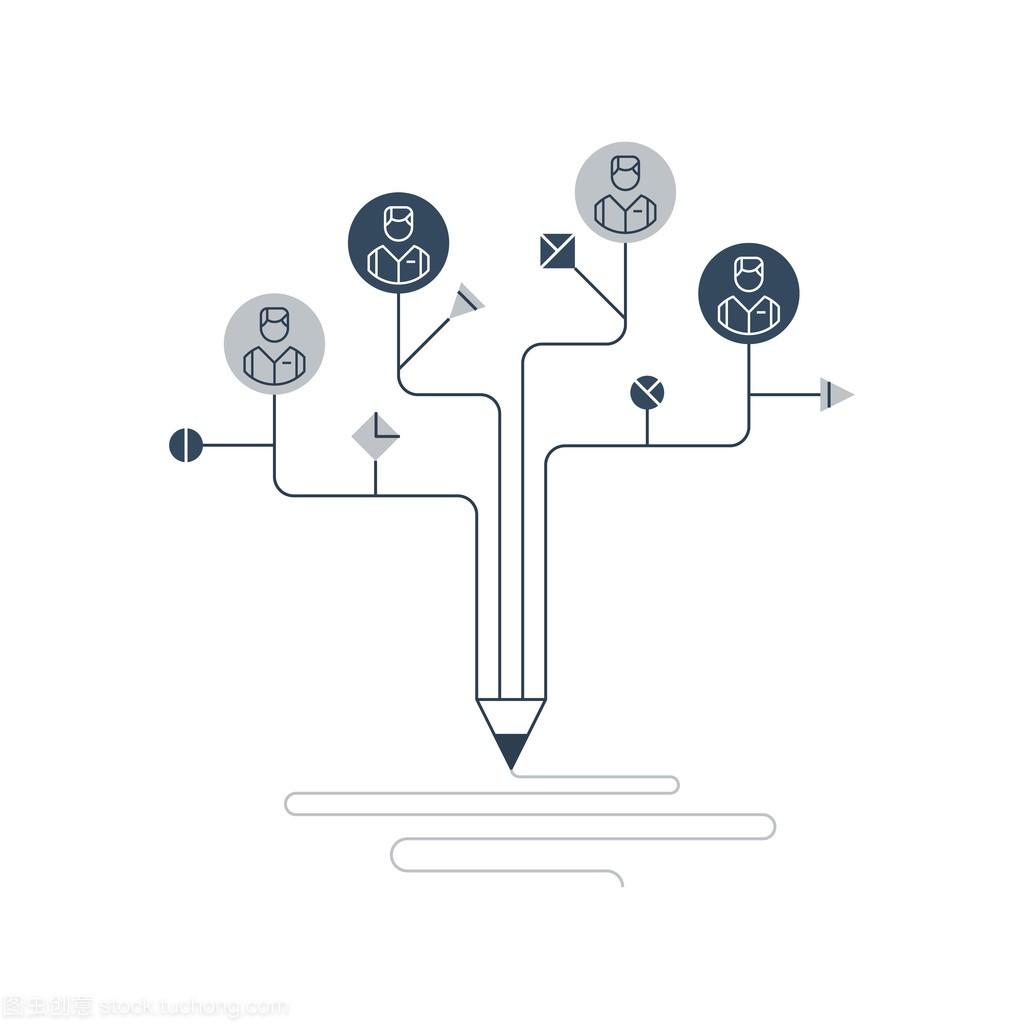 平面设计工作室笔软件绘制股票曲线图符号图片