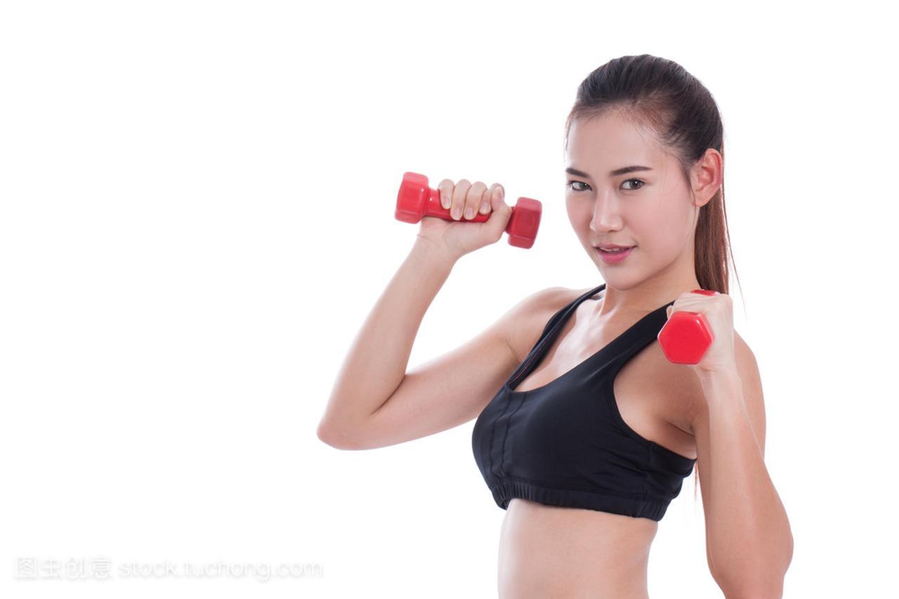 三个锻炼与v三个的年轻体育女子角的飞镖车标图片