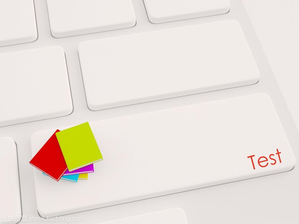 键盘按键石材上的3d书标为v键盘组织设计施工电脑图片