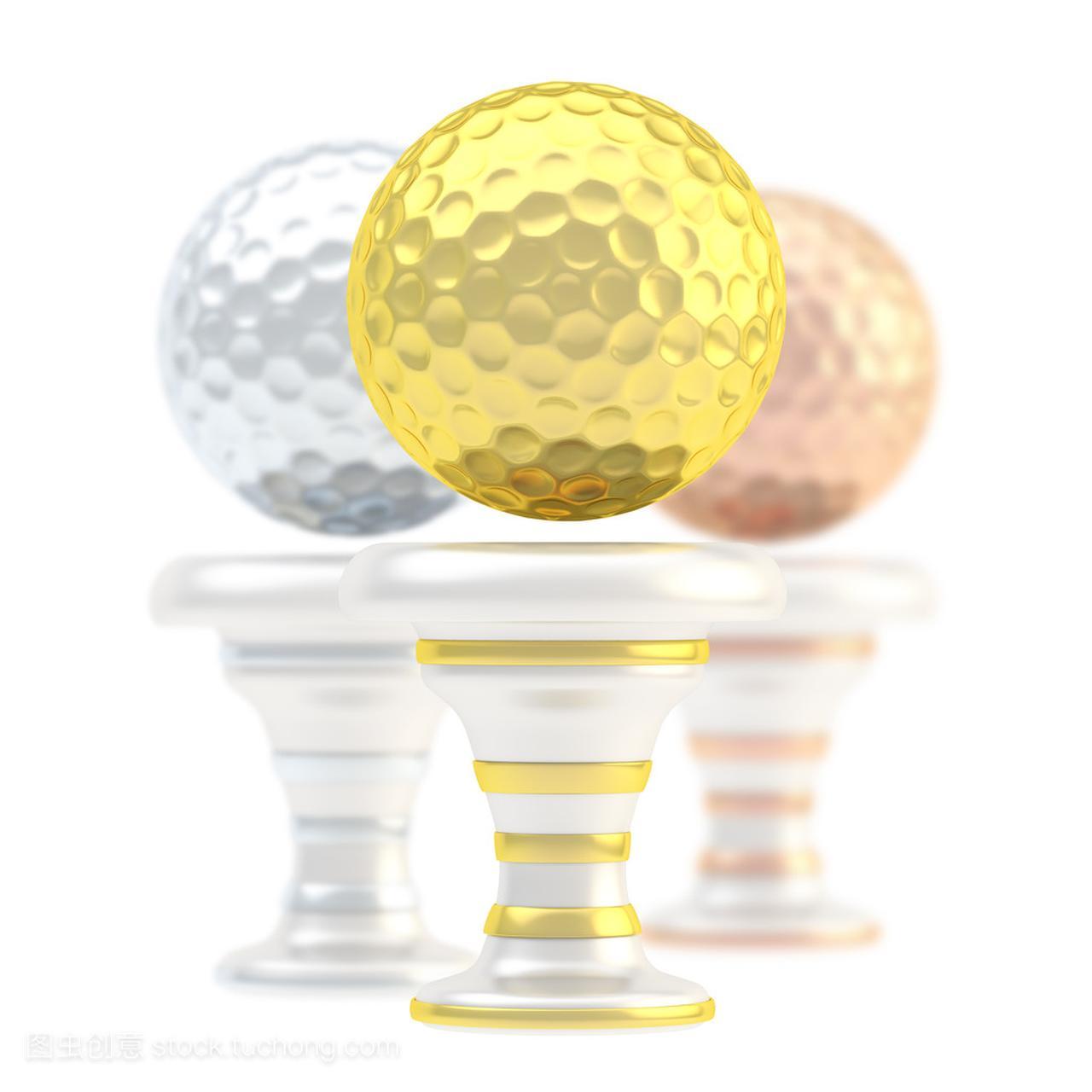 奖高尔夫球手球育球体苏神奖杯救主图片