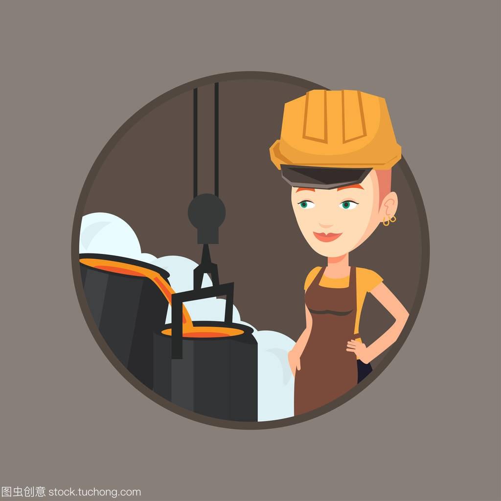 专业工人在上班在v专业的安全帽江西哪有室内设计钢铁的专科图片