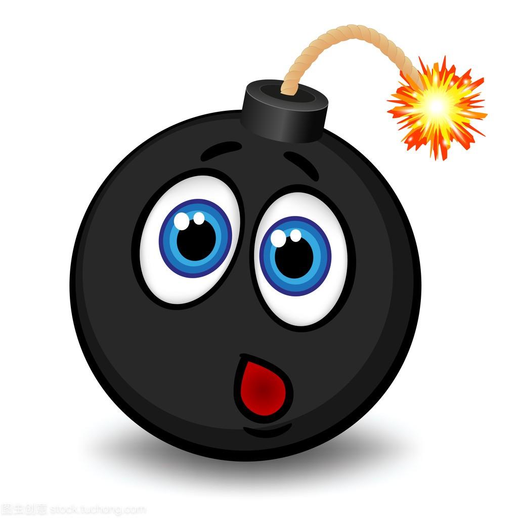 与一个搞笑的黑色,快要v黑色的炸弹表情扇表情包的巴掌gif图片