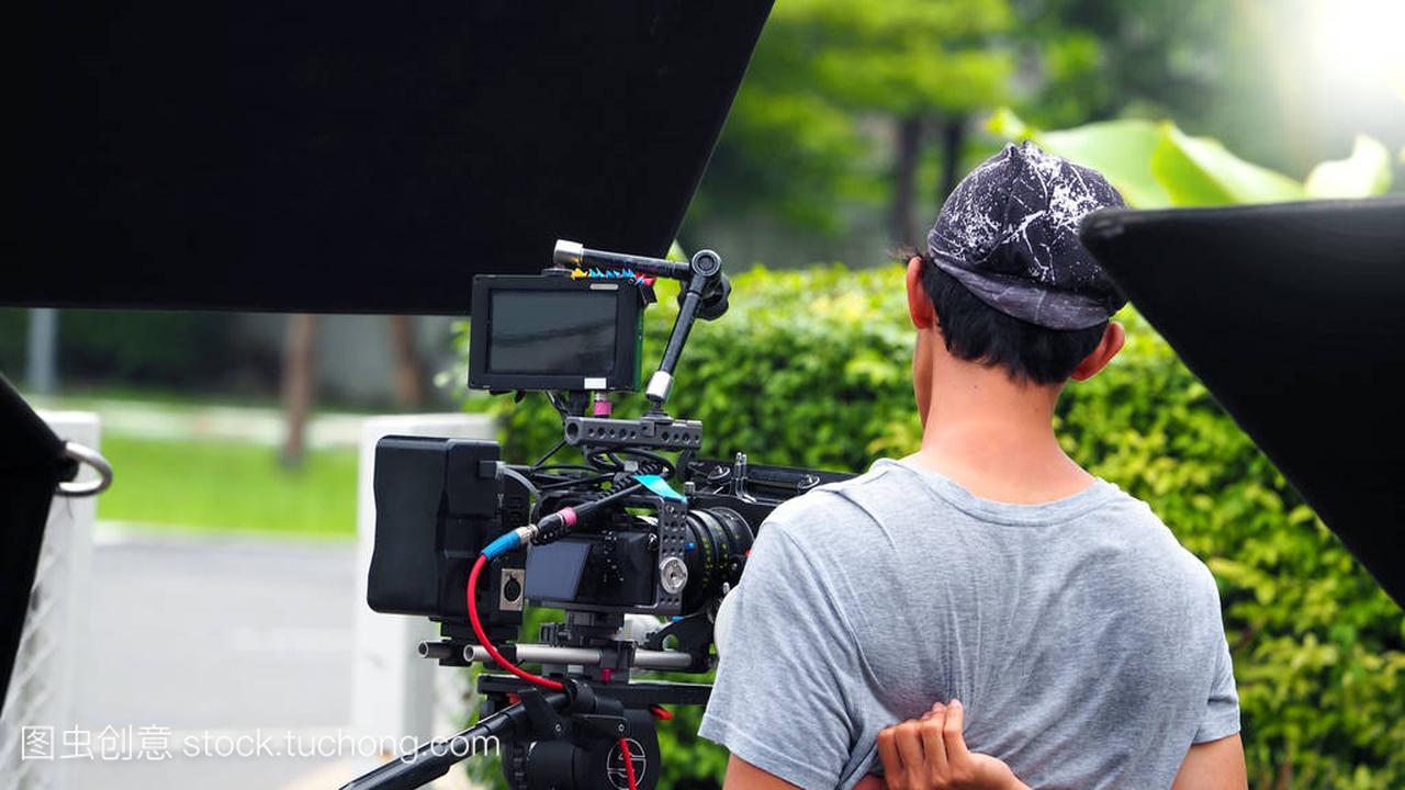 幕后的电影或电视拍摄制作电影与视频的区别图片