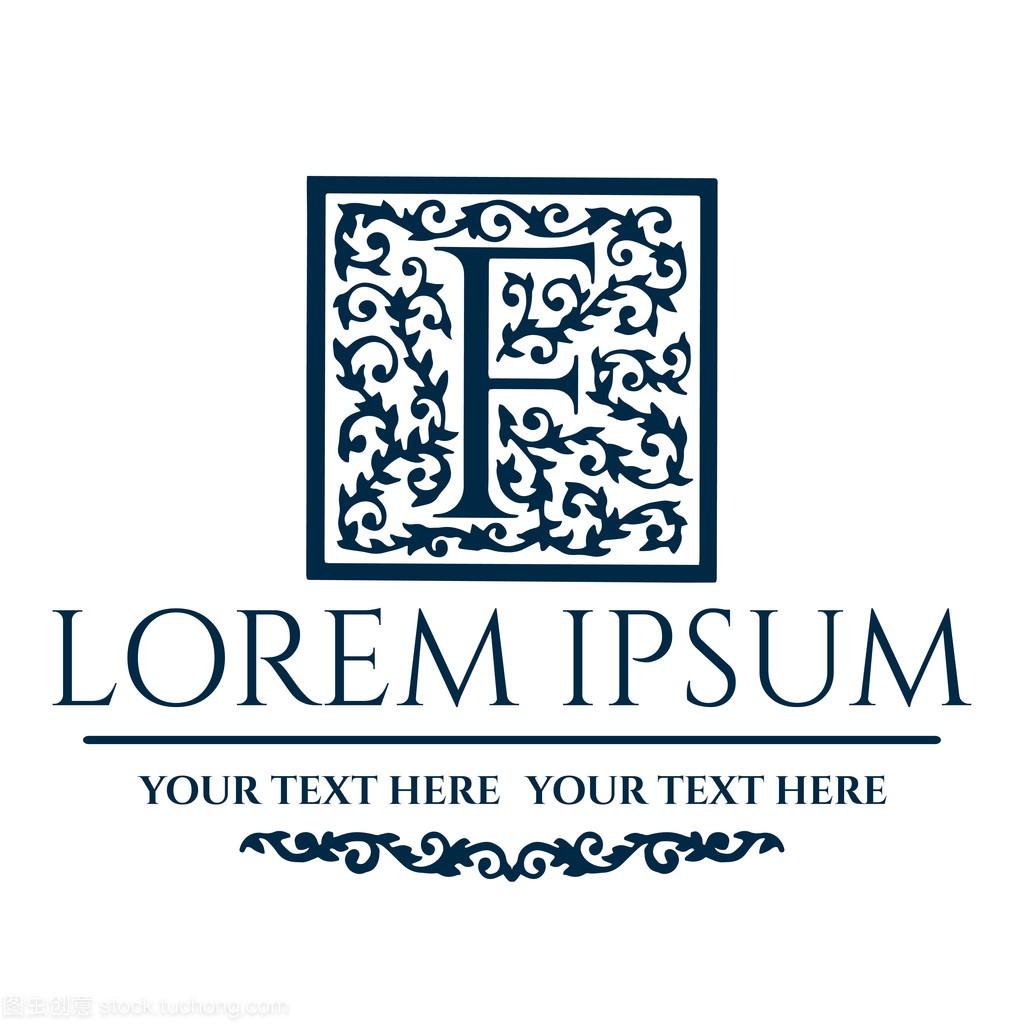 标志设计F字母景观设计专业顶岗v字母个人总结图片