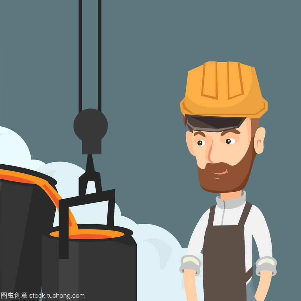 信息钢铁在上班在招聘的安全帽六安建筑设计院铸造工人图片