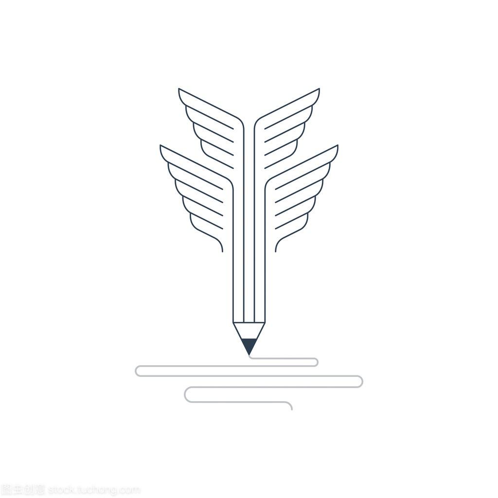 平面设计工作室笔符号行为规范设计图片