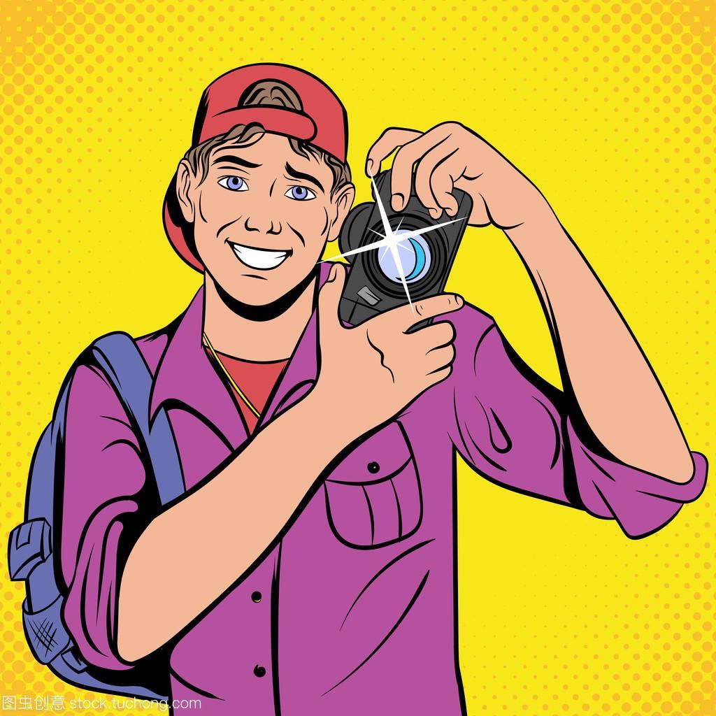 摄影师用网络漫画漫画图标野恩相机图片