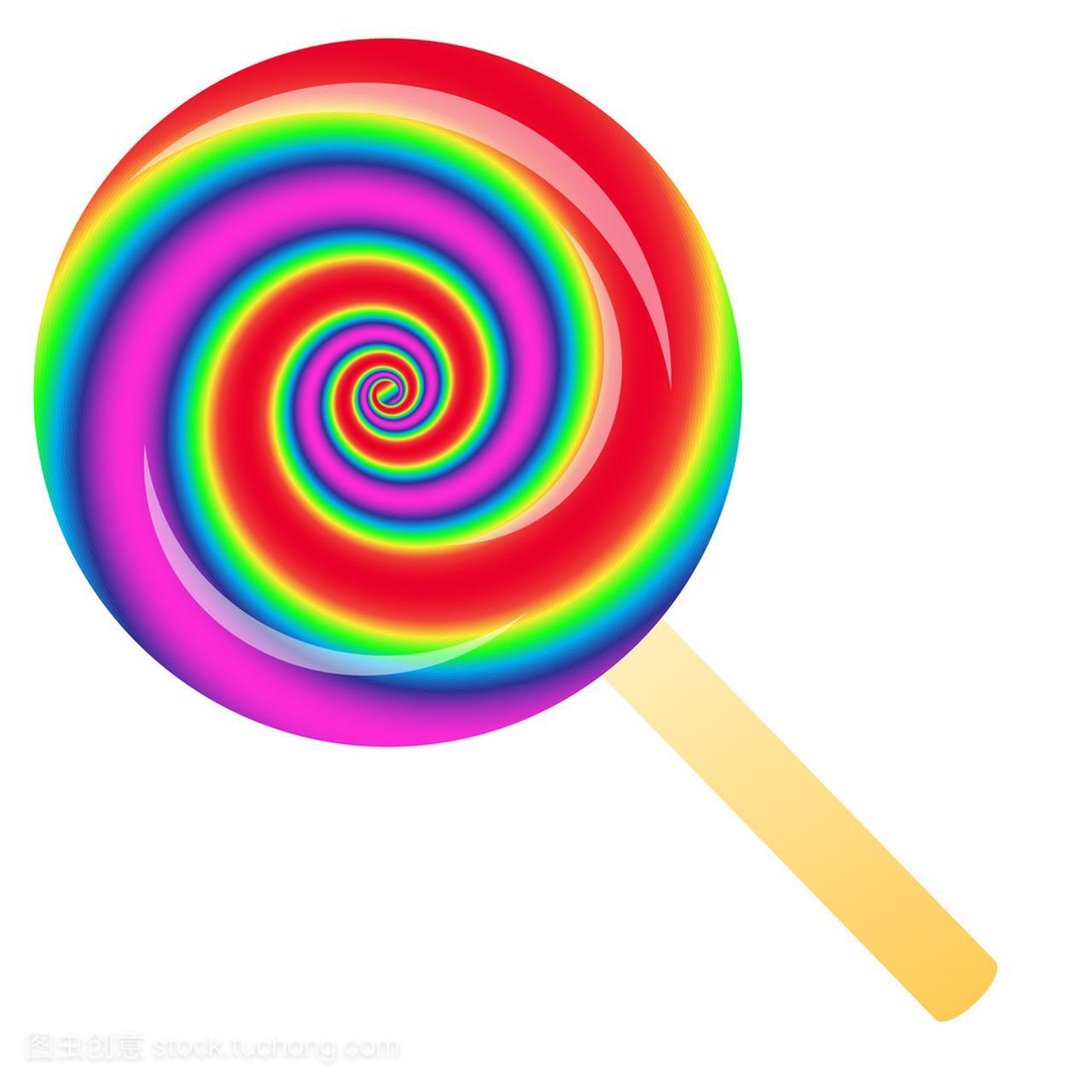 彩虹棒棒糖tnt表情图图片