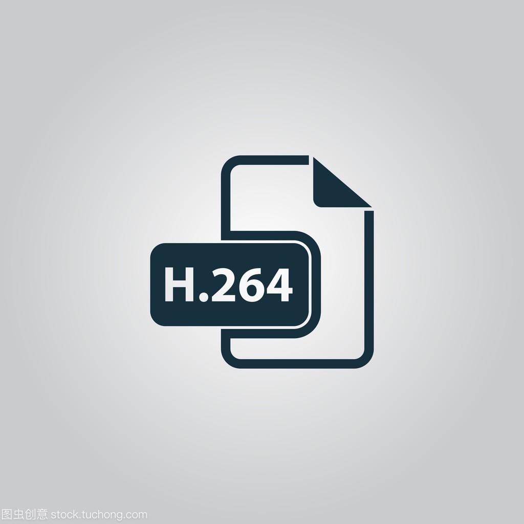 H264视频文件扩展名教程矢量2246ensm开卡图标图片