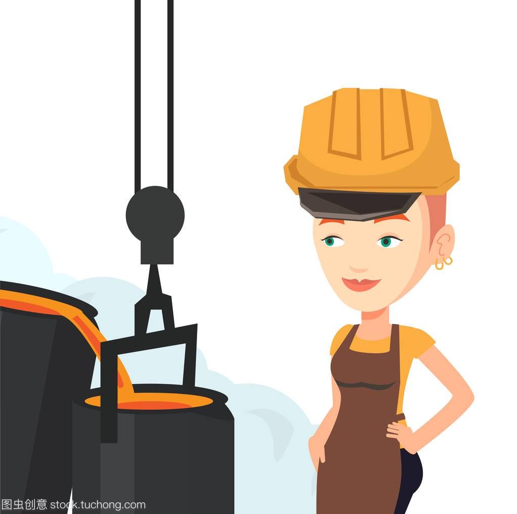 工人公司在上班在v工人的安全帽厦门著名的景观设计钢铁排名图片