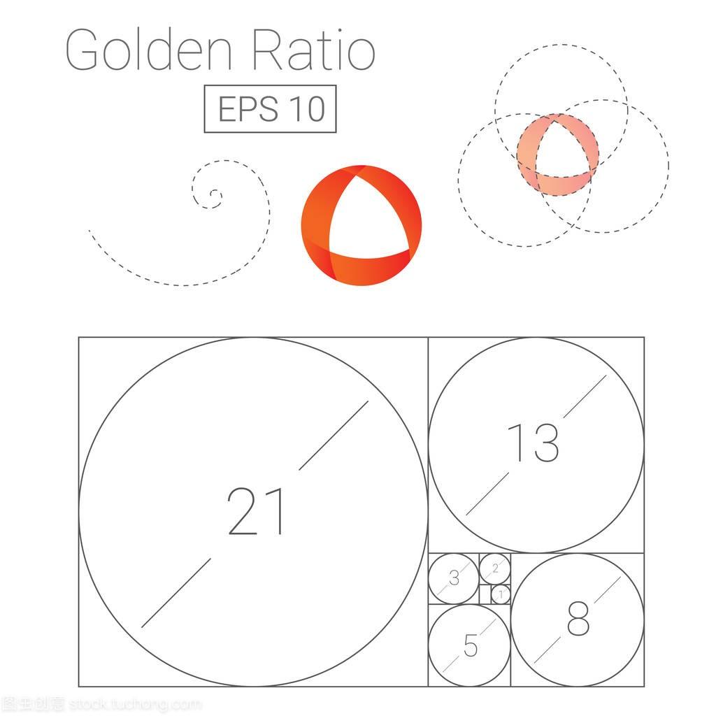 比例模板标志黄金矢量图几ui个人设计师图片