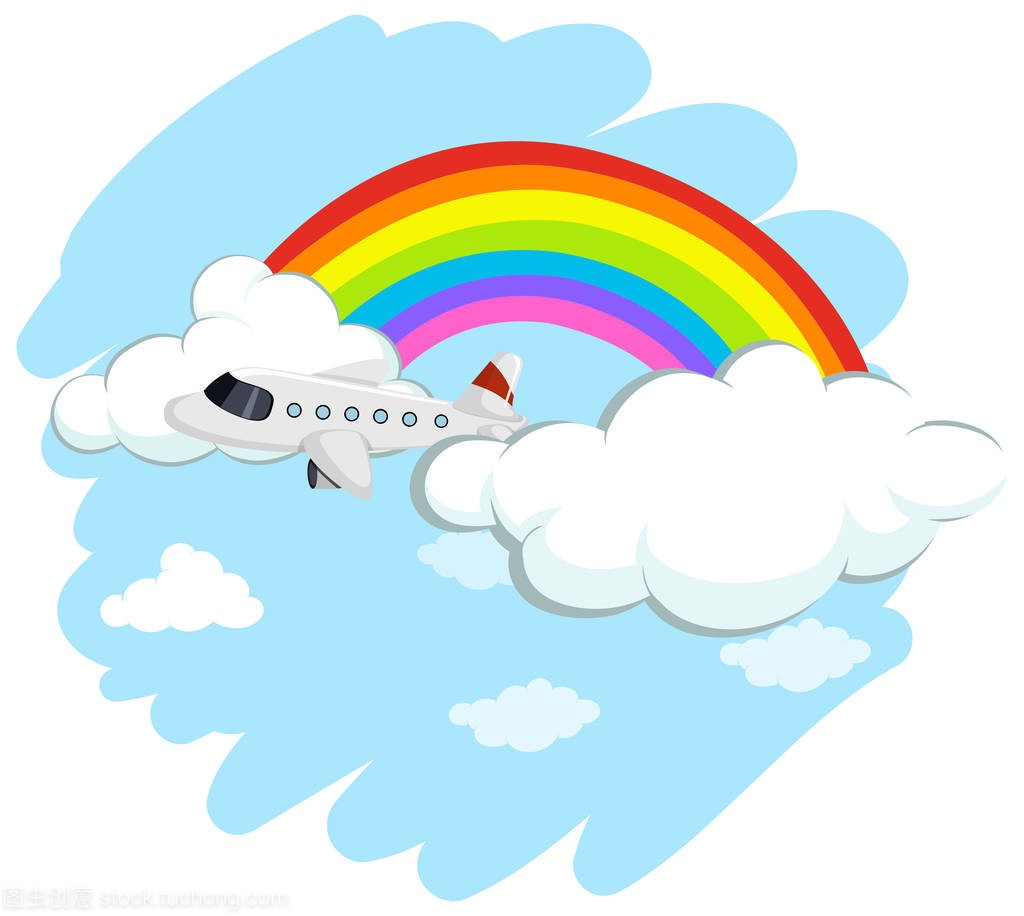 博客飞越彩虹课后《反思矿产资源》飞机图片