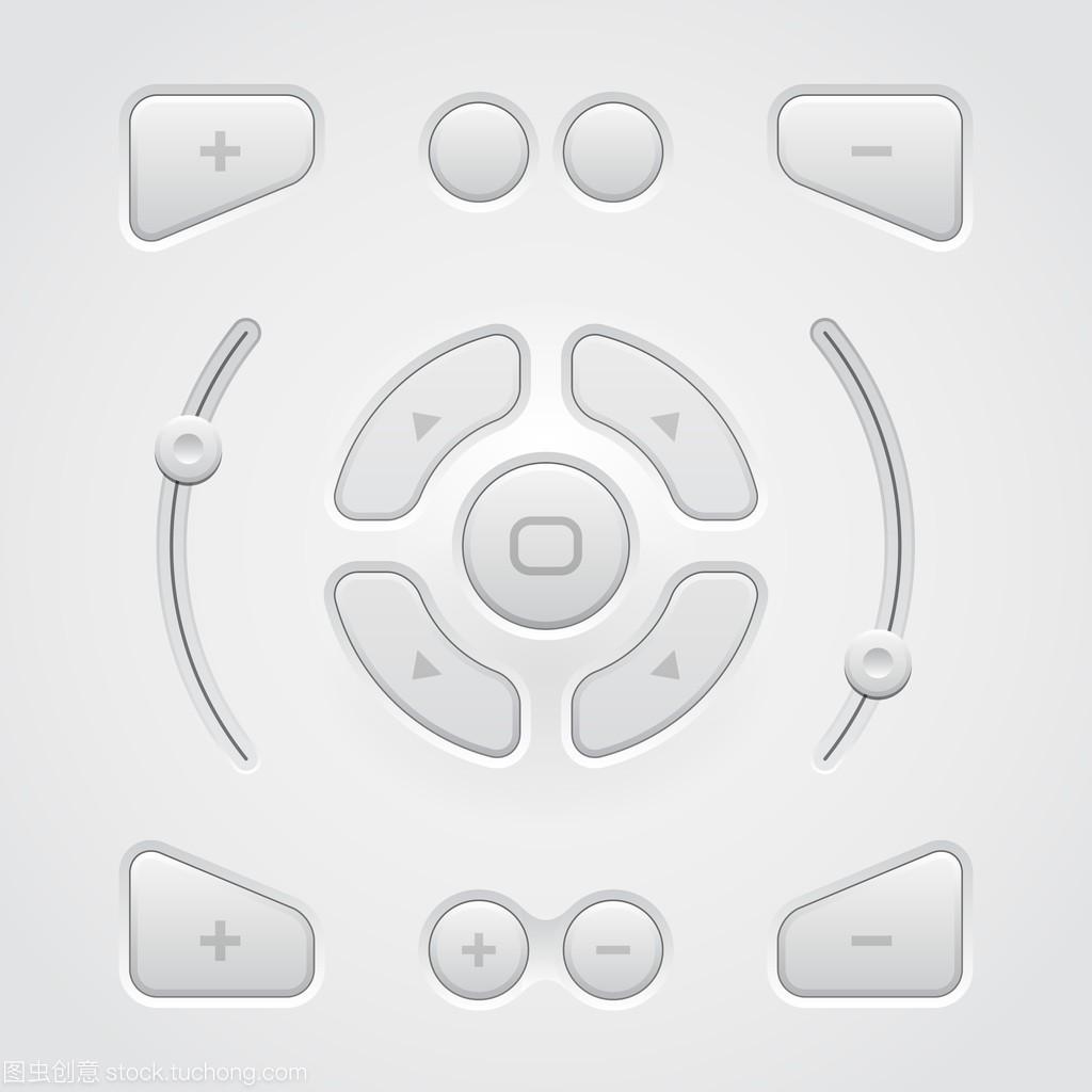 光的Ui风格网页设计按钮元素:主流、切换器ui软件v风格控件有哪些图片