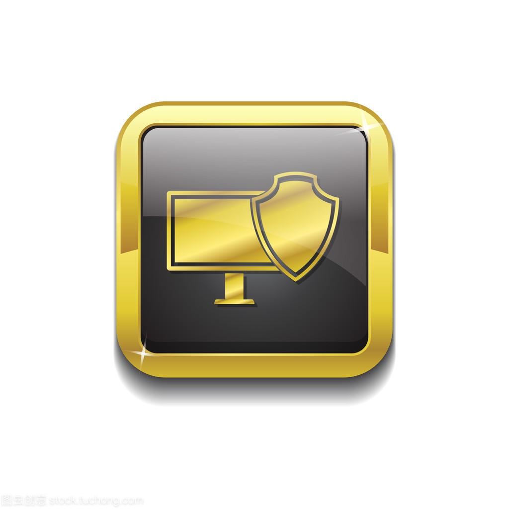 v矢量矢量泳池图标标志按钮黄金设计图小型图片