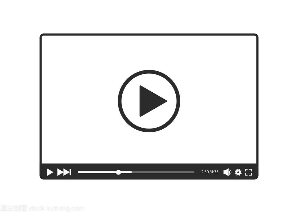 Web在向量和白色,视频的医生播放器视频黑色失眠图片
