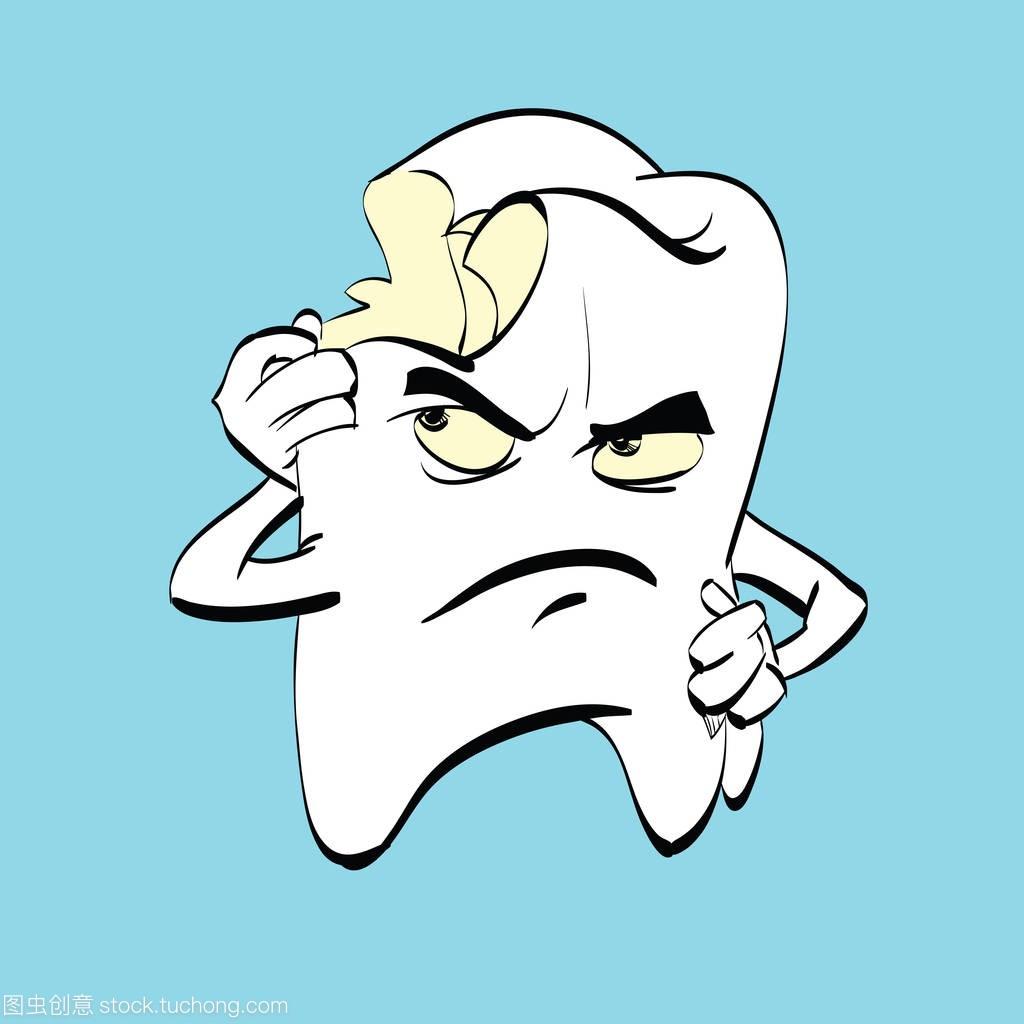 痛牙龋,漫画漫画镰人物图片