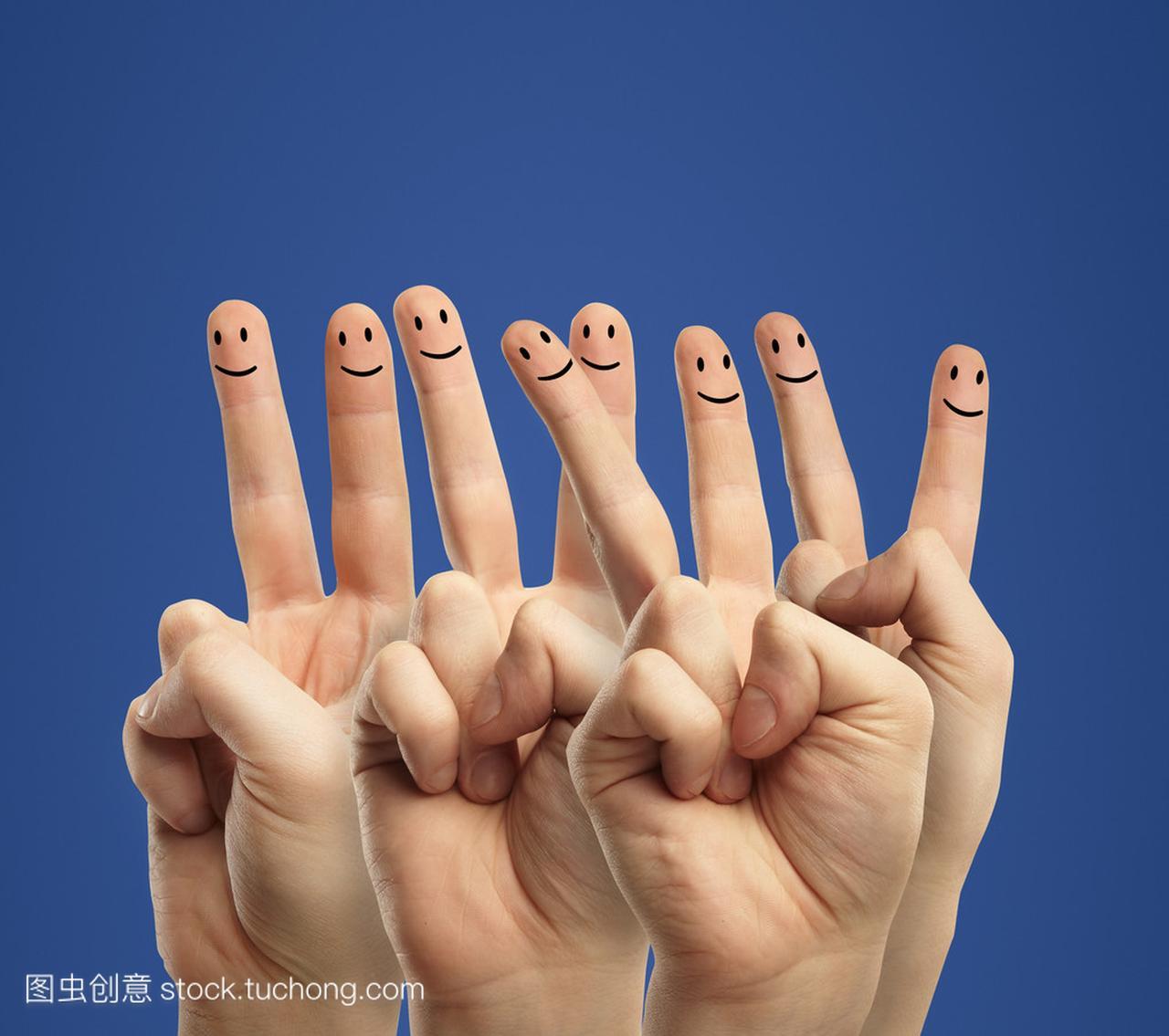 表情手指的微聊天图片搞笑幽默信图片
