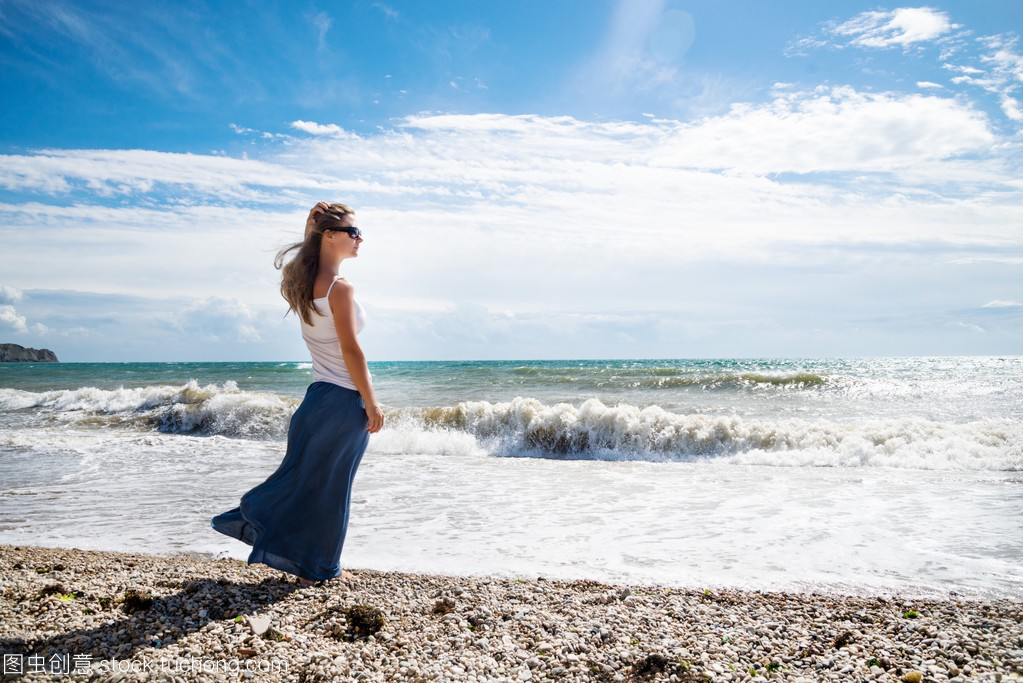 在性感上海滩的女孩李云龙性感的图片