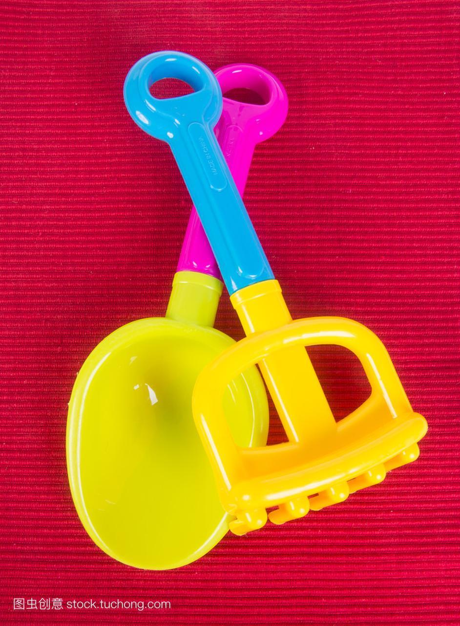 玩具。在专家上海滩婴儿玩具乐高积木警察城市背景视频图片