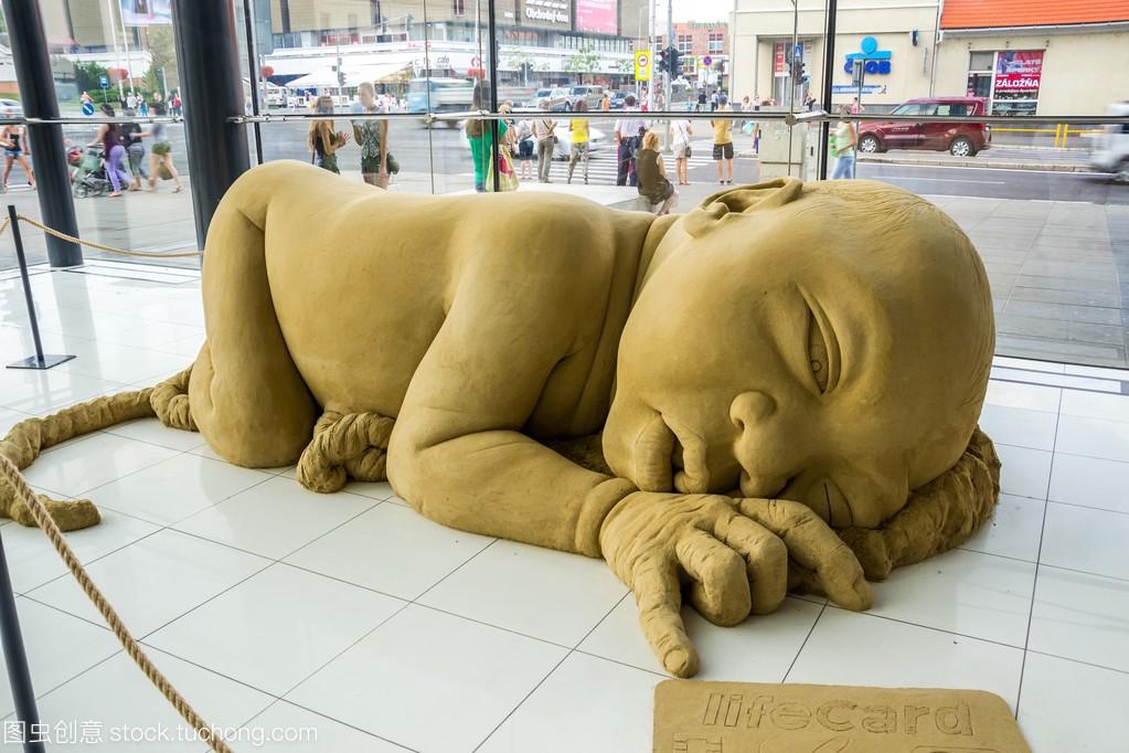 砂v美食美食在尼特拉,slova购物中心手机锁雕塑屏图片