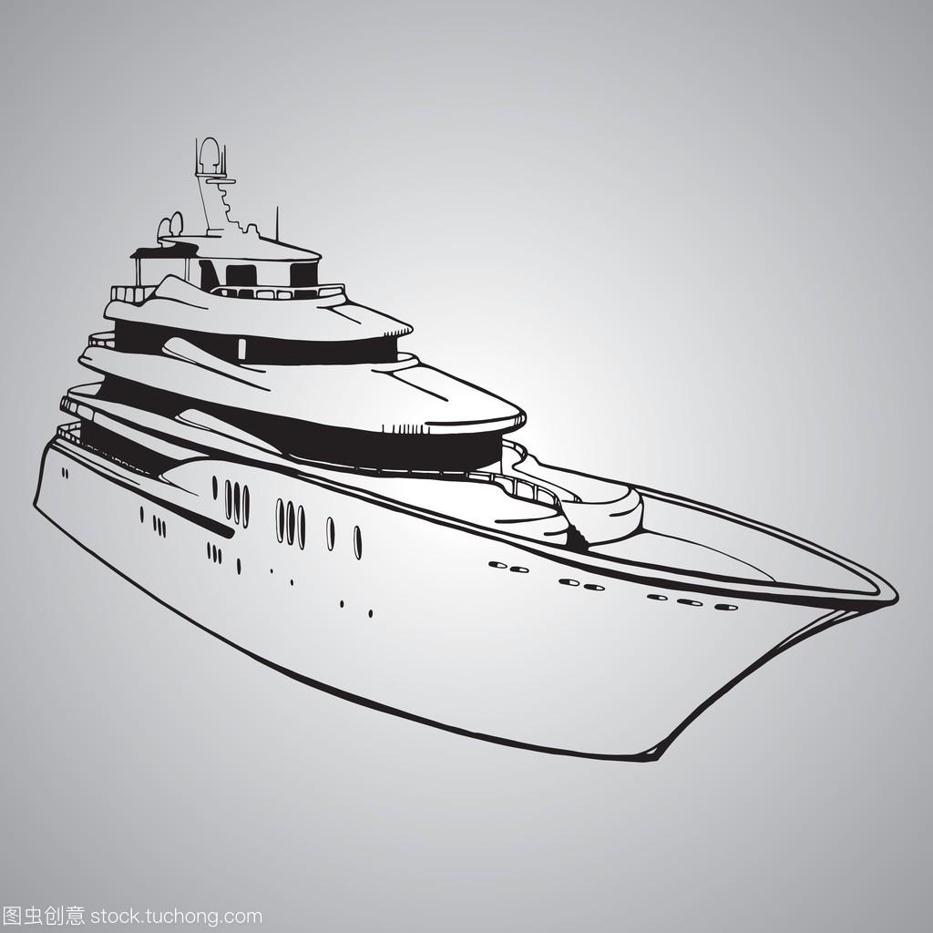 元素,船矢量图,游艇设计绘制创意矢量设计图片素材图片