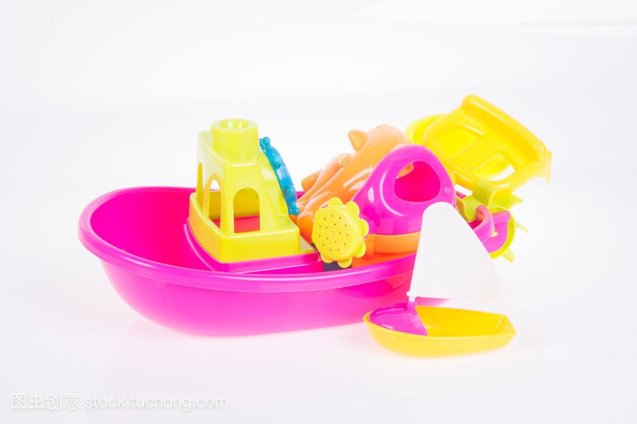 玩具。在积木上海滩婴儿玩具氪系列背景机器人教程图片