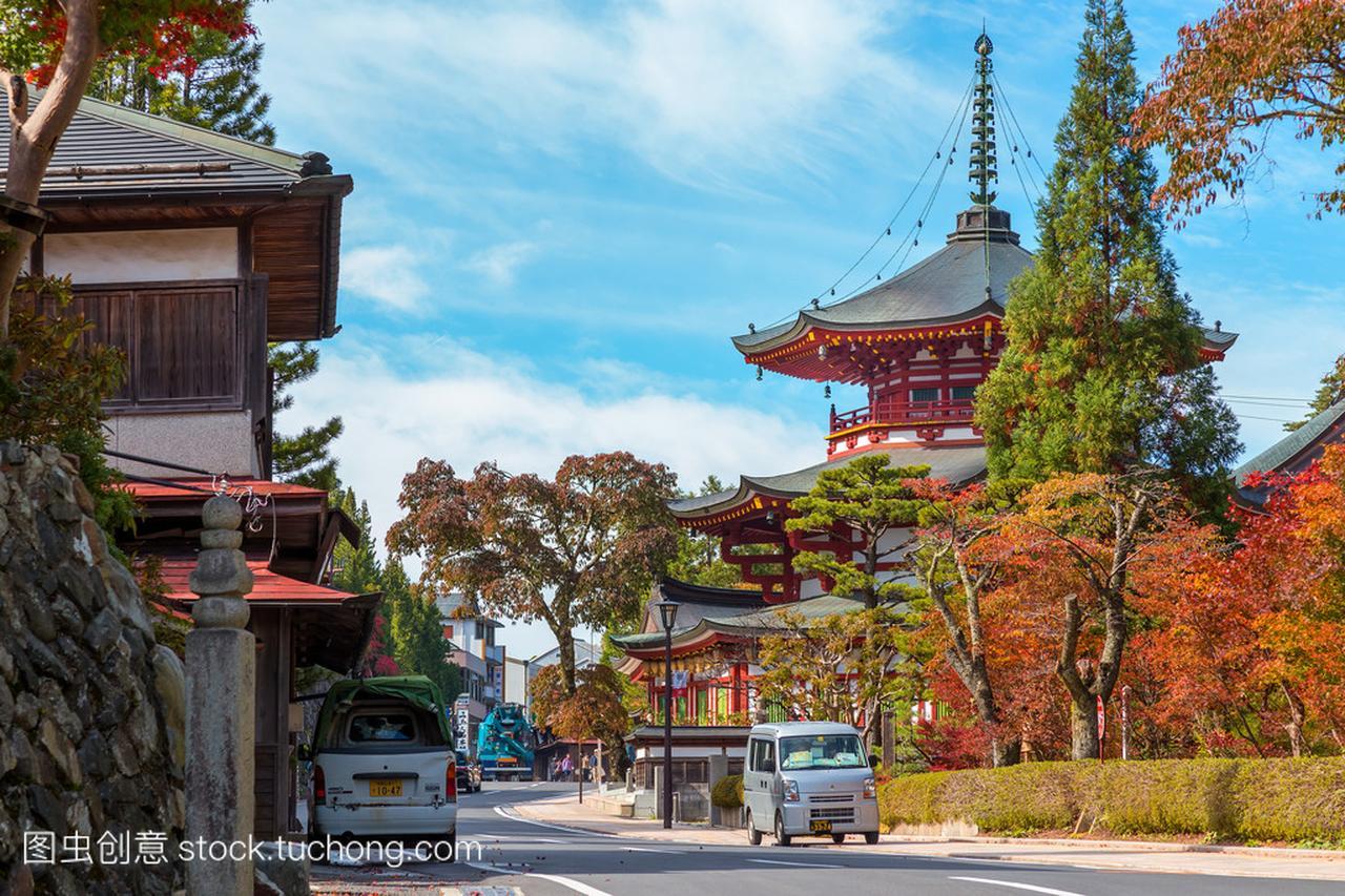 Jofuku在寺在和歌山县高野山(高野山)金丝熊不放跑轮可以吗图片