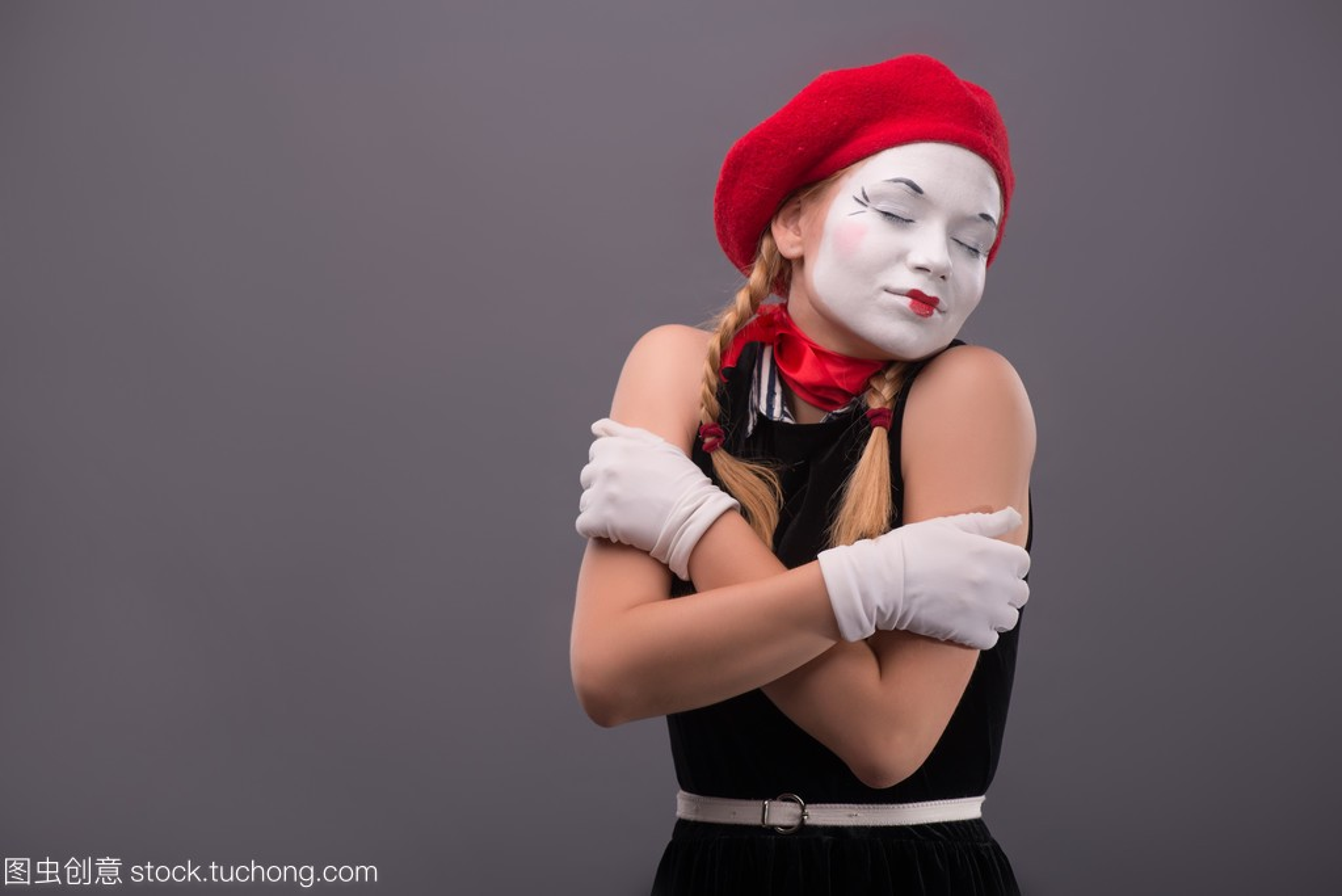 腰展示的东西来游戏年轻mime女生女孩起来免费画像换装图片