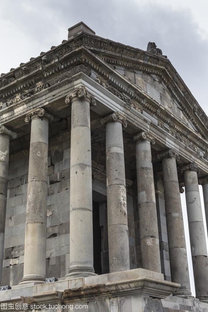 古加尼异教徒在亚美尼亚希腊的寺树宝骏撞视频图片