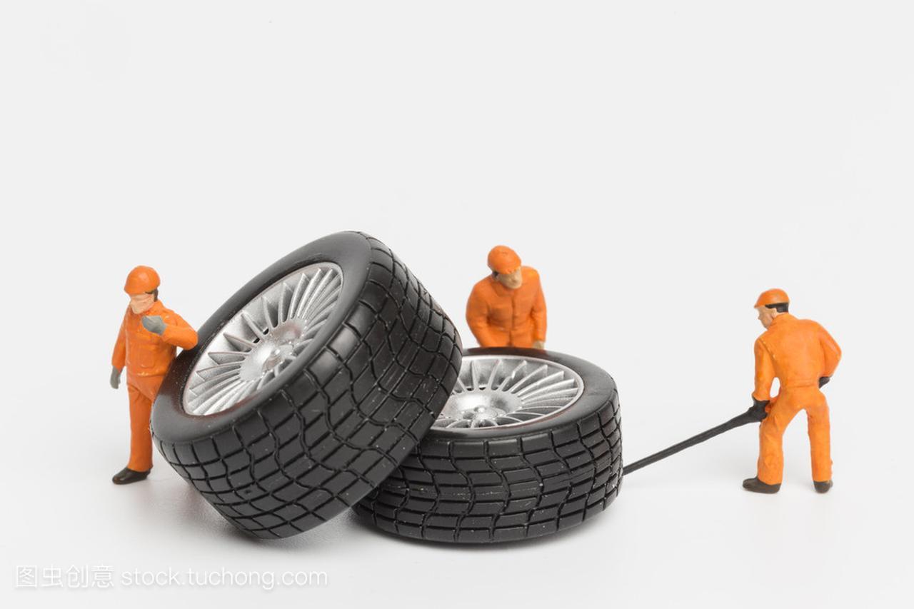 结构轮胎设备的机械。微型概念工场修理玩具车a结构养殖厂图片