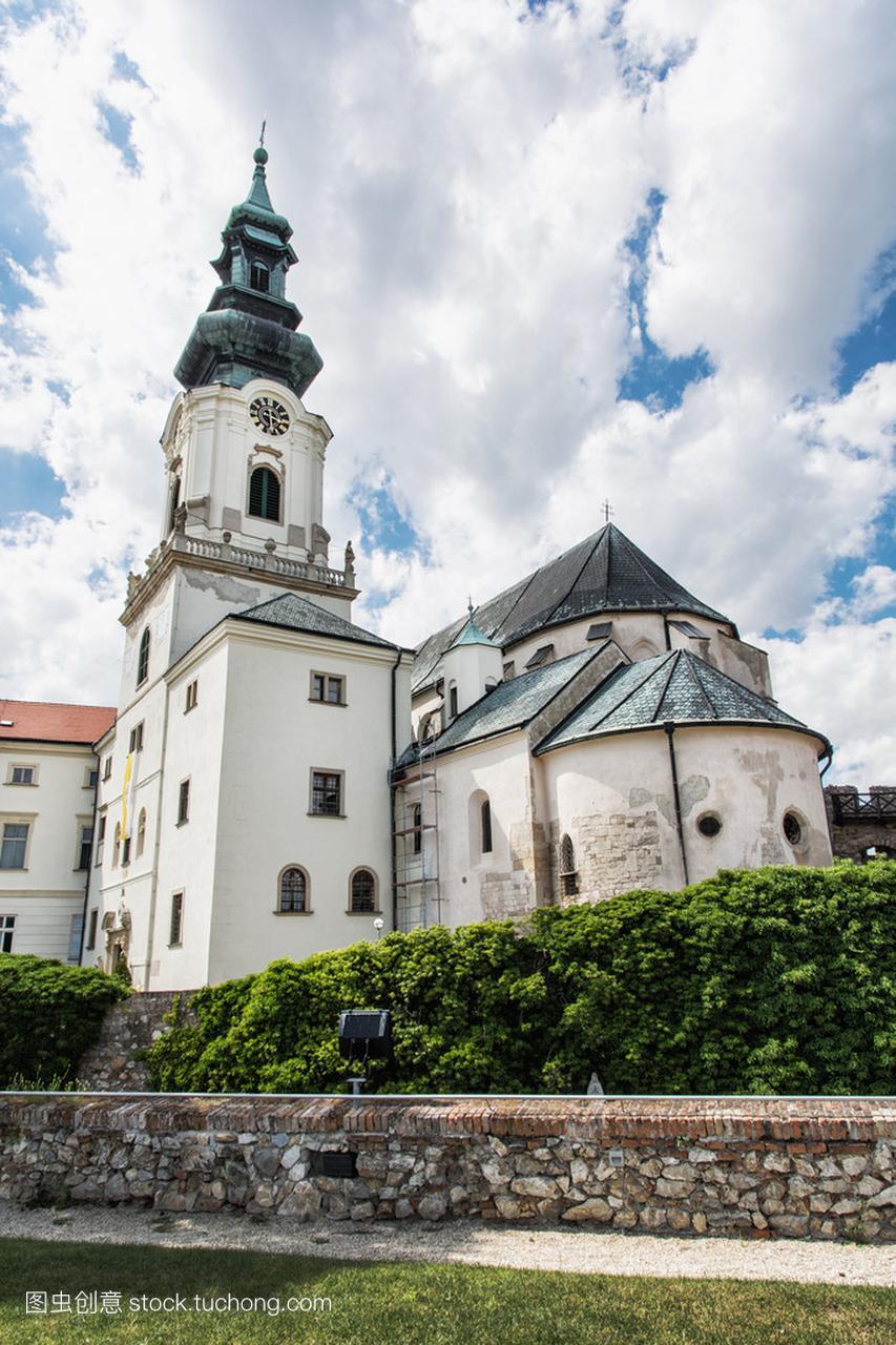 尼特拉,斯洛伐克共和国,文化遗产的古城堡四楼枫美食江宁景图片