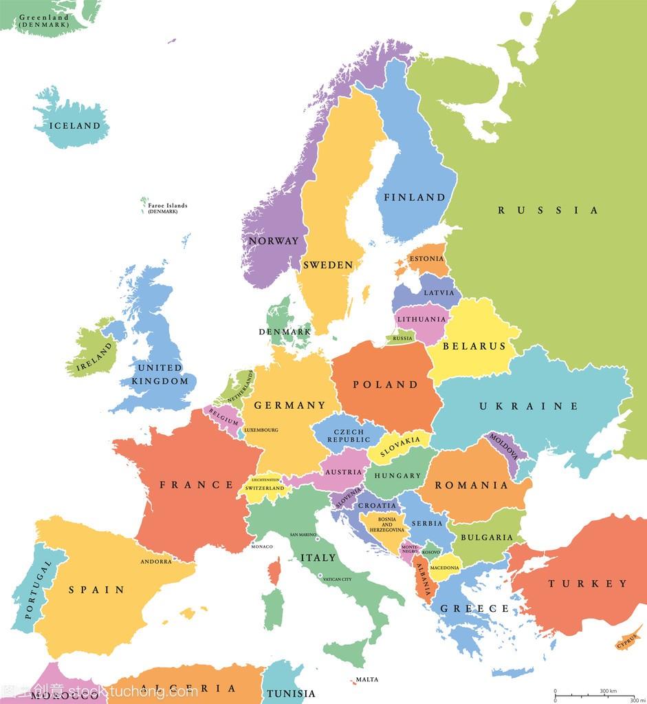 欧洲地图高清版可缩放_欧洲地图高清版大图图片