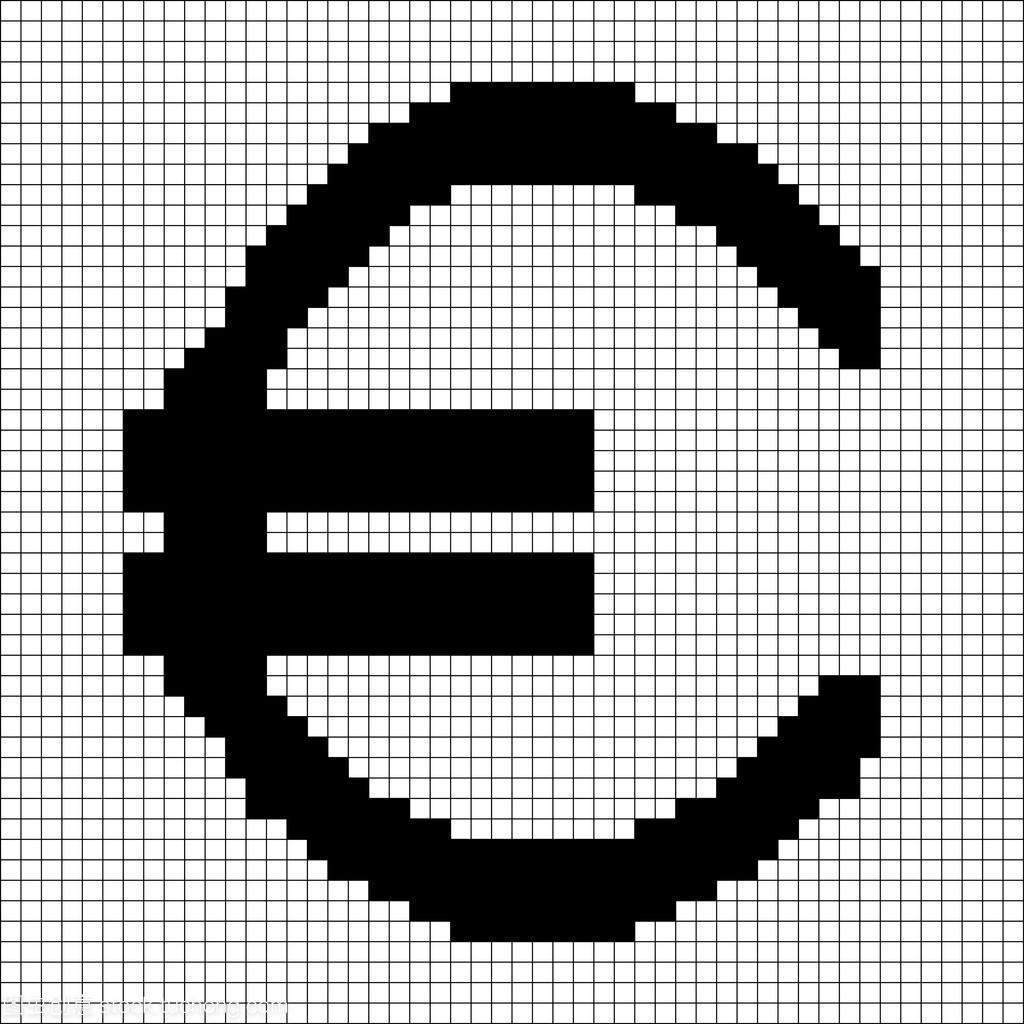 网格的欧元4.09标志表格像素word如何绘制不封闭黑色图片