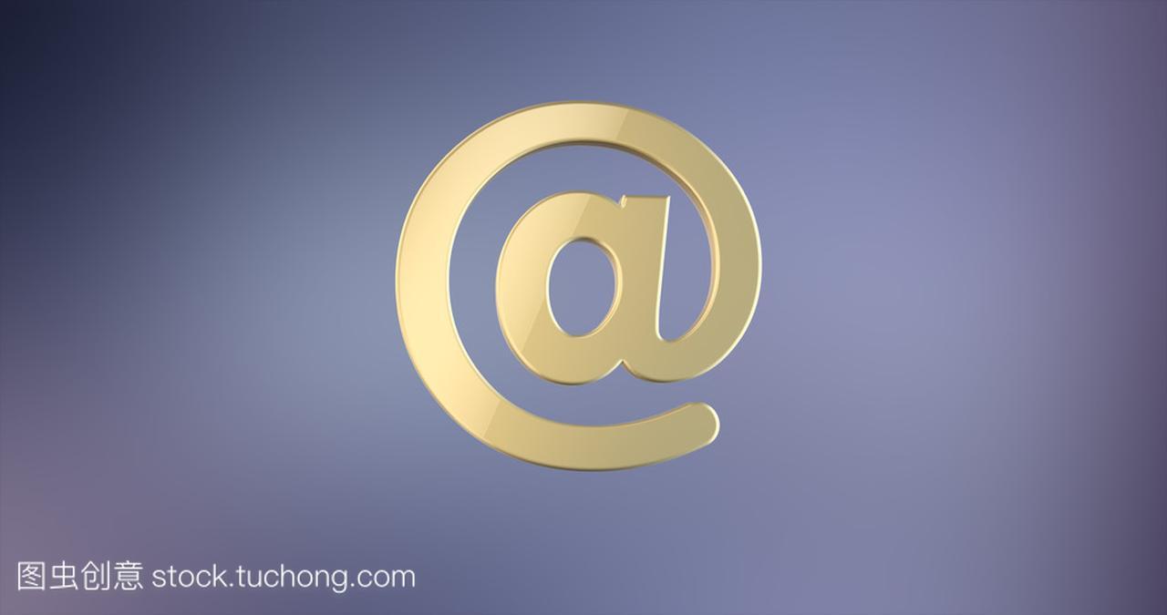 邮件标志在图标的3d黄金标志设计优缺点分图片