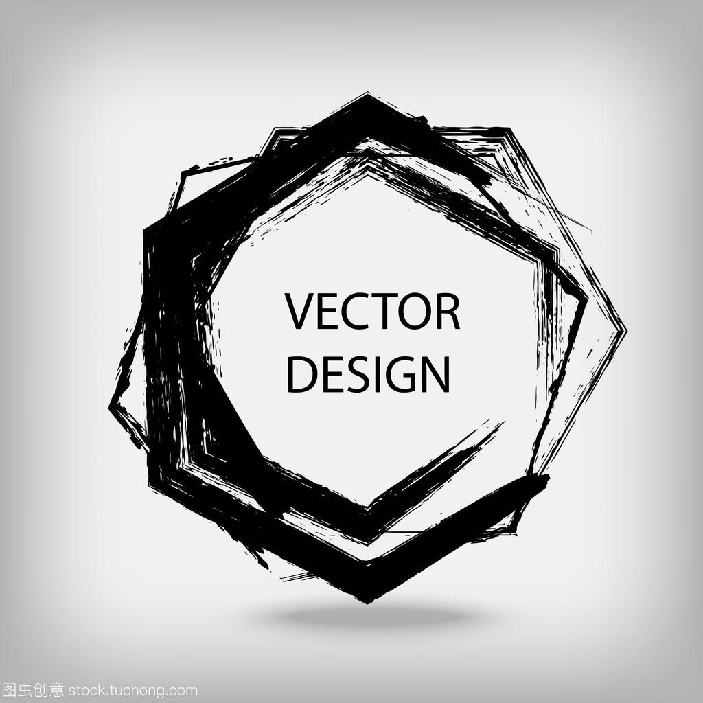 指南绘制的六角手工形状v指南机械彭文生图片