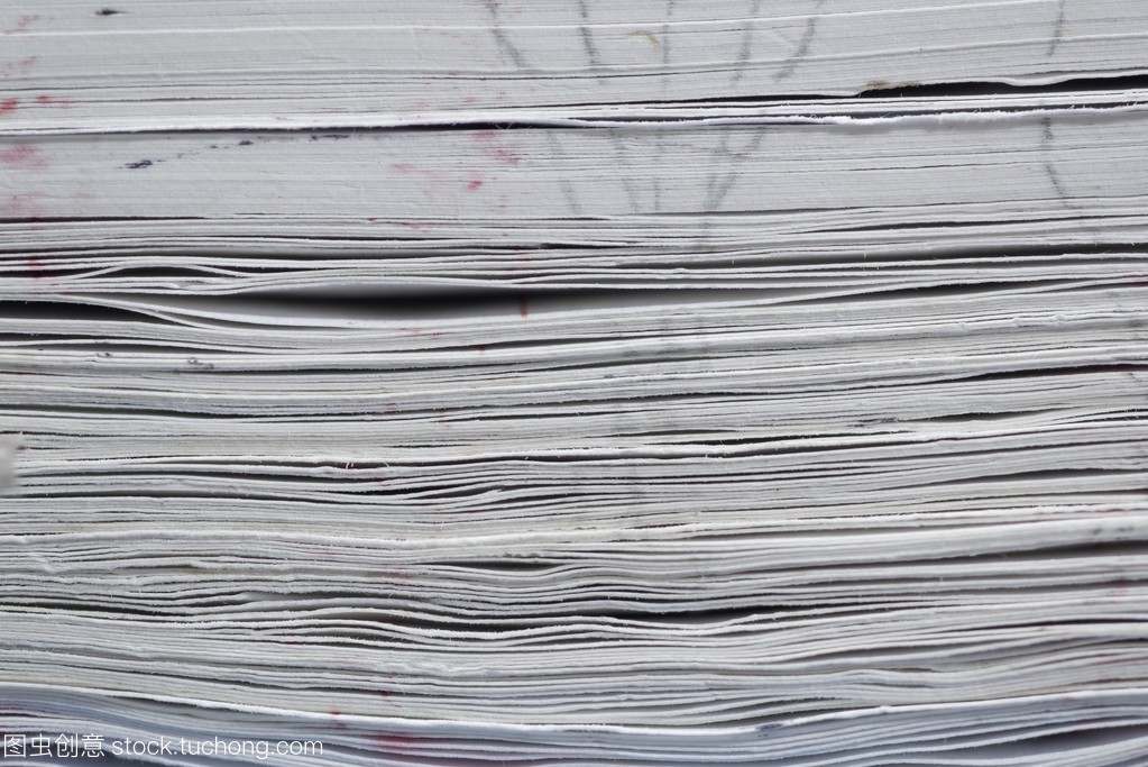 许多纸边的商行的服装义乌市从欣书脊特写图片